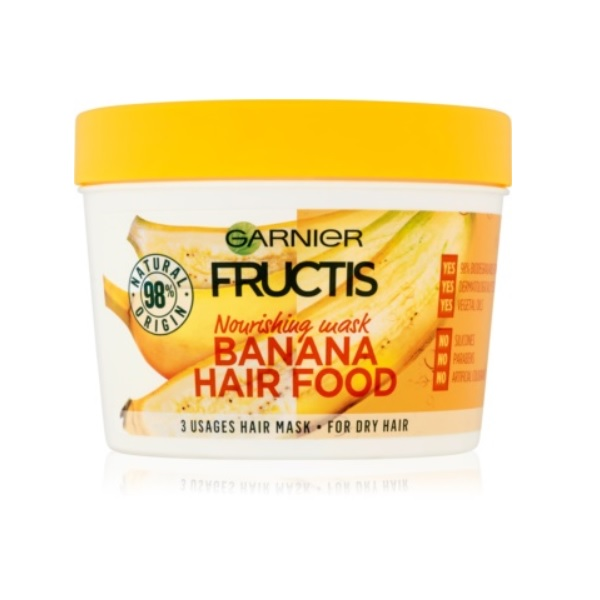 Garnier Fructis Banana Hair Food recenzie a test