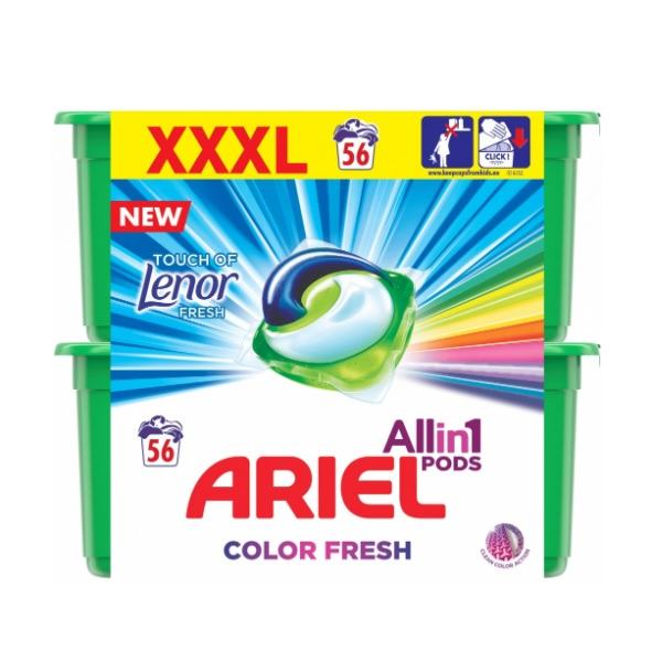 Ariel Touch of Lenor recenzie a test