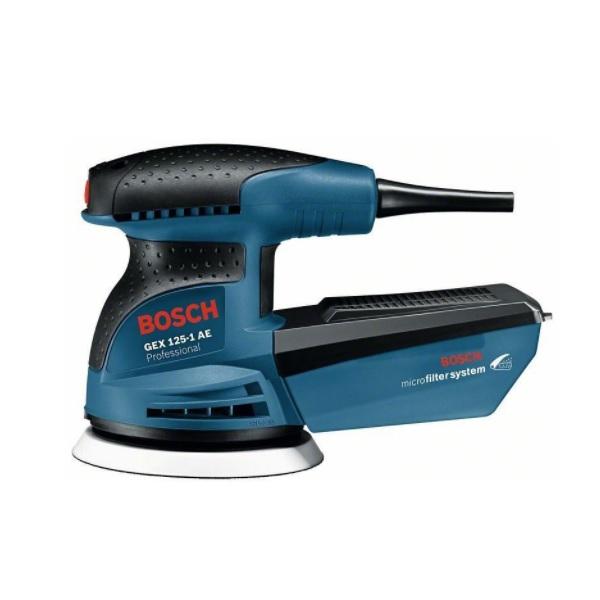 Bosch GEX 125-1 AE Professional recenzie a test