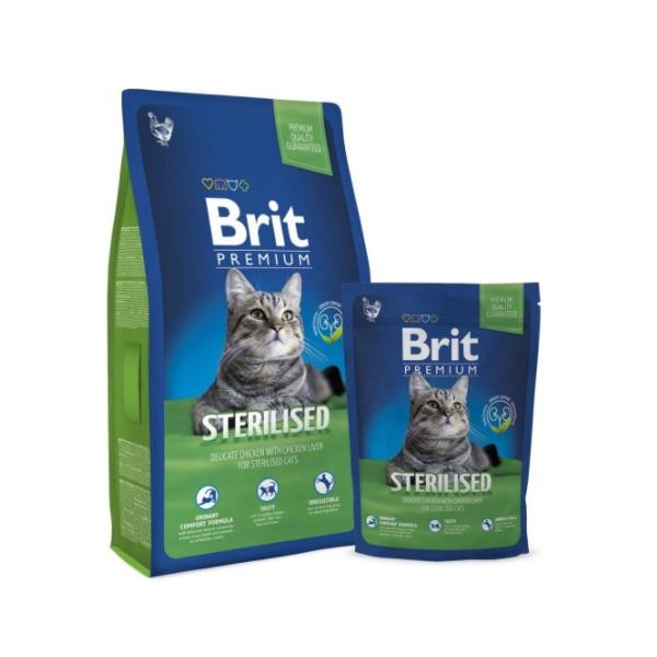 Brit cat Premium Sterilised recenzie a test