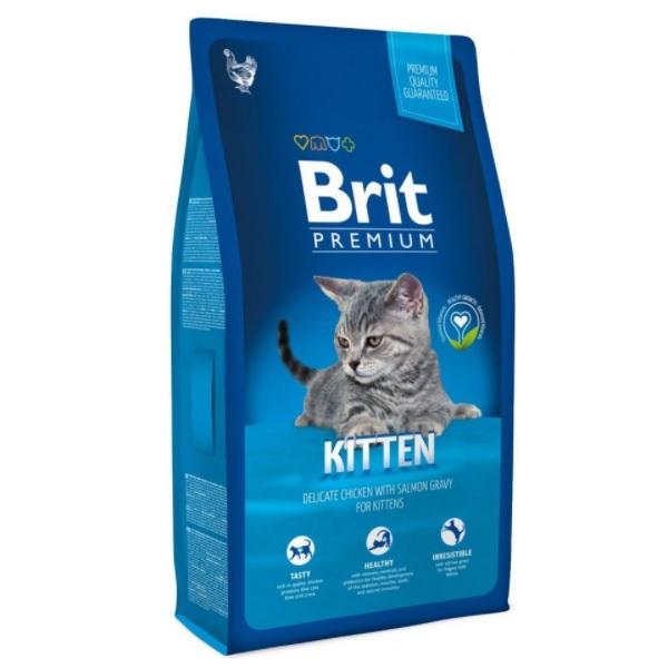Brit cat kitten Premium recenzie a test
