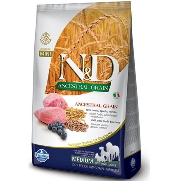 N&D LG DOG Puppy M/L Lamb & Blueberry recenzie a test