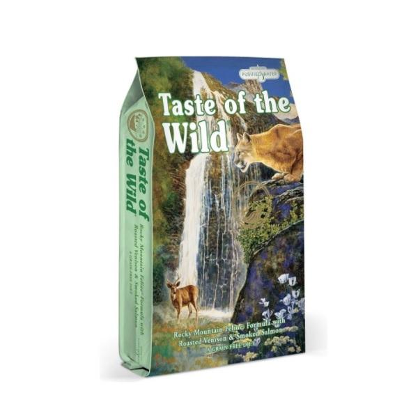 Taste of the Wild Rocky Mountain Feline recenzie a test