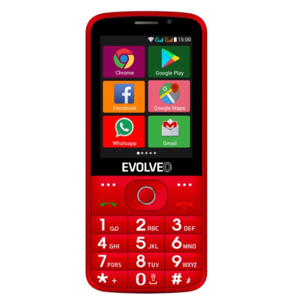EVOLVEO EasyPhone AD recenzie a test